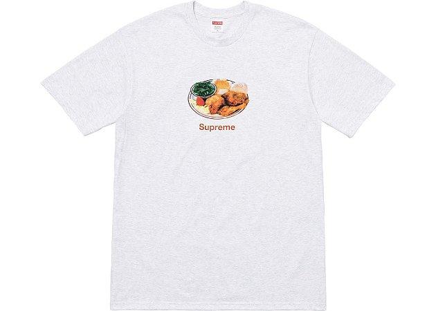 """SUPREME - Camiseta Chicken Dinner """"Ash Grey"""""""