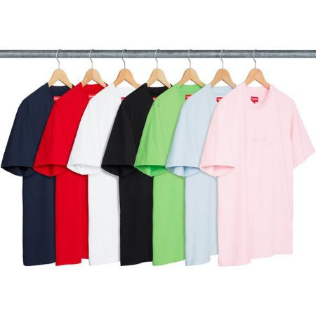 ENCOMENDA - SUPREME - Camiseta Tonal Embroidery