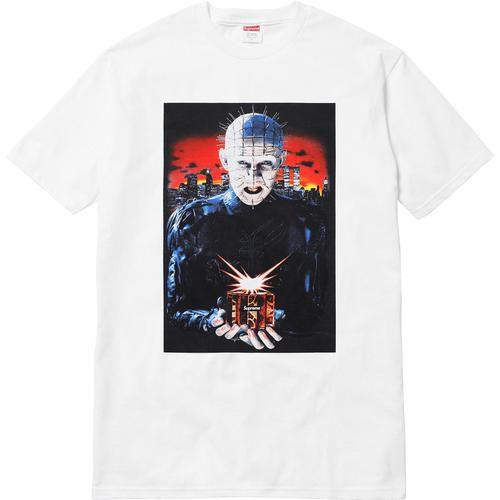 "Supreme x Hellraiser - Camiseta Hell on Earth ""White"""