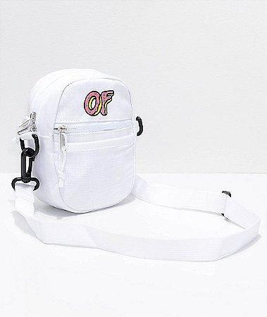 """ODD Future - Bolsa Shoulder OF Logo """"White"""""""