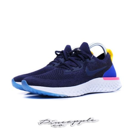 """Nike Epic React Flyknit """"College Navy"""""""