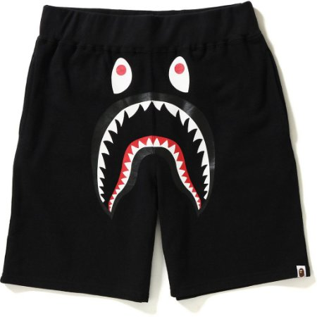 "BAPE - Bermuda Shark Sweat ""Black"""