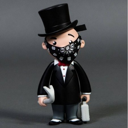 ENCOMENDA - BAIT X MONOPOLY X SWITCH COLLECTIBLES MR PENNYBAGS