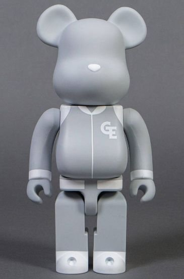 "ENCOMENDA - BEARBRICK - GOODENOUGH CLASSIC ""GRAY"" 400%"