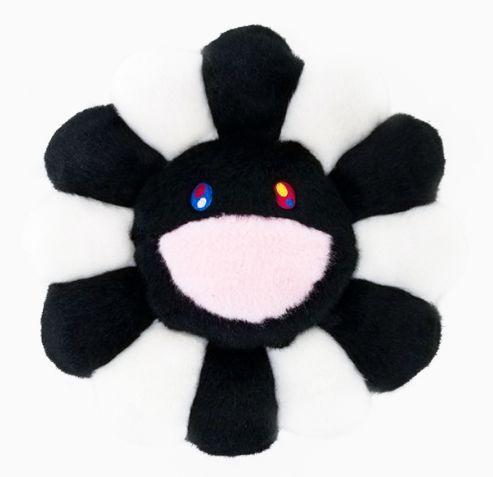 "ENCOMENDA - KAIKAI KIKI - Pelúcia Murakami Flower Cushion ""Black & White"""