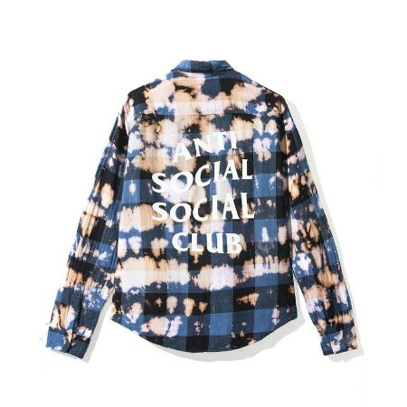 "ANTI SOCIAL SOCIAL CLUB  - Camisa PSY Buffalo ""Blue"""