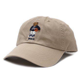 "Polo Ralph Lauren - Boné Polo Bear ""Khaki"""