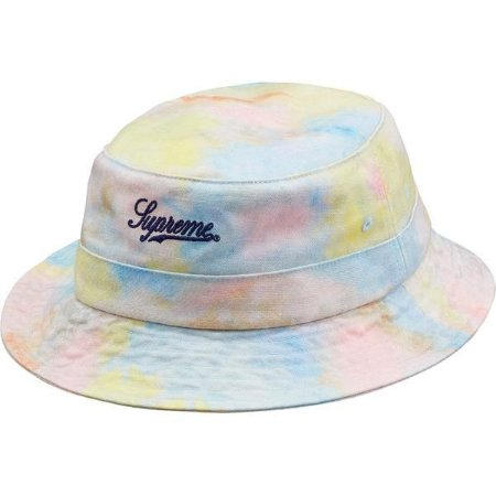 "ENCOMENDA - SUPREME - Chapéu Bucket  Denim Crusher ""Multicolor"""