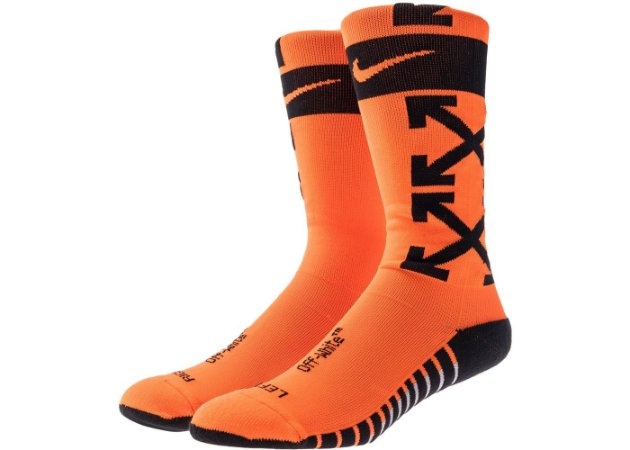 "ENCOMENDA - Nikelab x OFF-WHITE  - Meias FB ""Orange"""