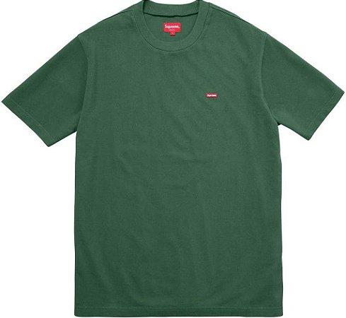 "SUPREME - Camiseta Small Box Pique ""Green"""