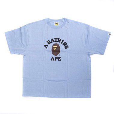 "BAPE - Camiseta College ""Light Blue"""