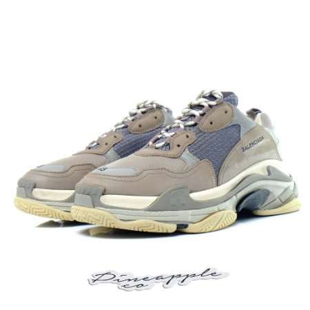 "BALENCIAGA Triple S ""Grey"""