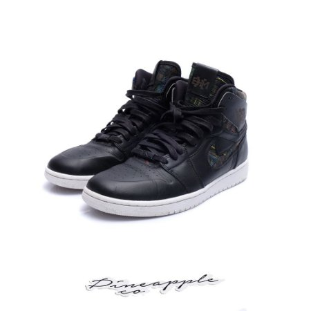 """Nike Air Jordan 1 Nouveau """"BHM"""" -USADO-"""