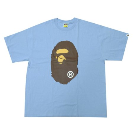 "BAPE - Camiseta Big Head Ape ""Blue"""