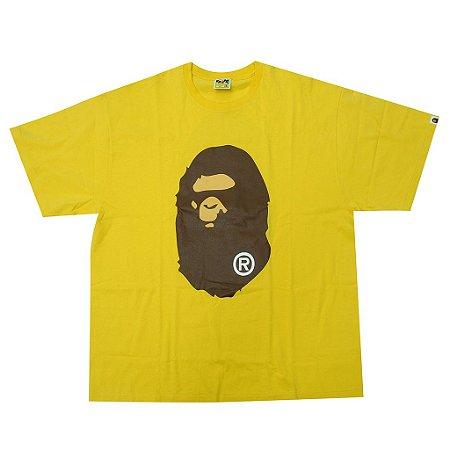 "BAPE - Camiseta Big Head Ape ""Yellow"""