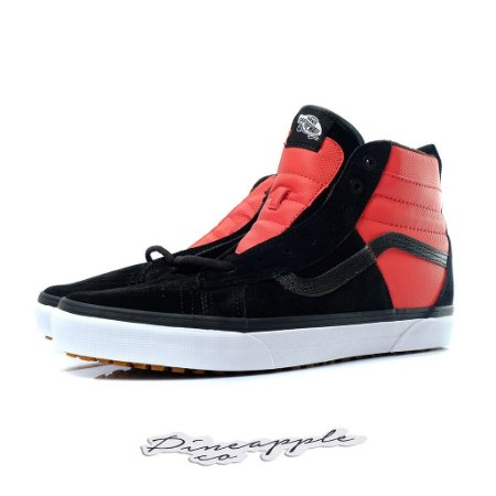 "Vans SK8-HI 46 MTE DX x The North Face ""Black/Red"""