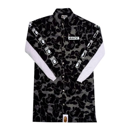 "BAPE - Jaqueta Parka Never Kill Ape ""Black"""