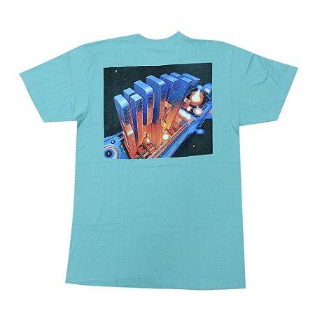 """SUPREME - Camiseta Skyscraper """"Turquoise"""""""