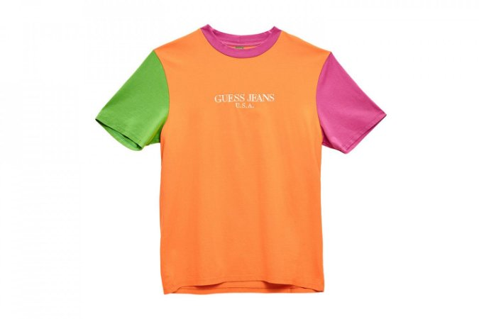 """GUESS  x  Sean Wotherspoon - Camiseta Colors """"Orange"""""""