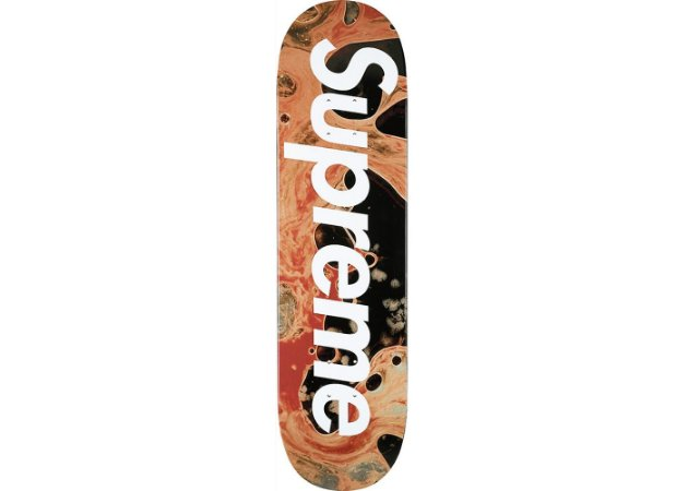 SUPREME - Shape Blood & Semen Skateboard Deck