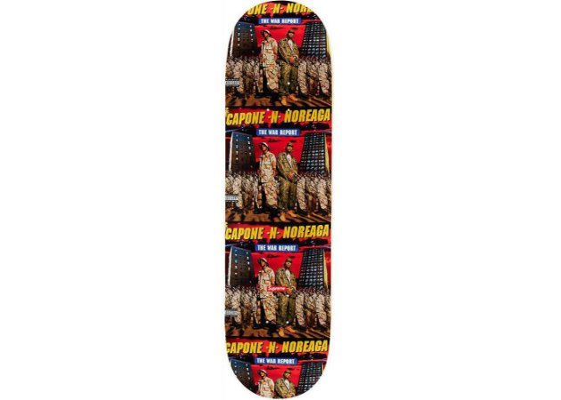 SUPREME - Shape The War Report Skateboard Deck
