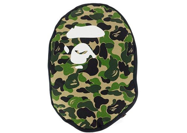 BAPE - Travesseiro  ABC Camo Apehead Green