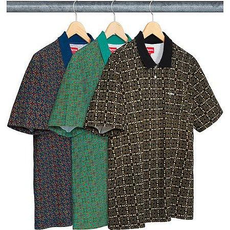 ENCOMENDA - SUPREME - Camiseta Polo Bridle Print