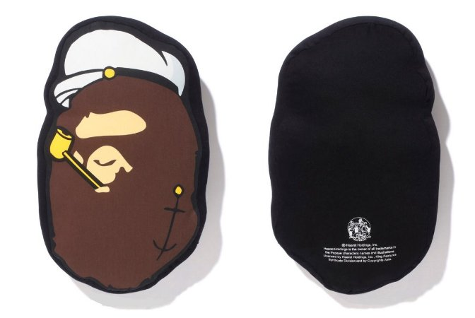 ENCOMENDA - BAPE x Popeye - Travesseiro APE HEAD Cushion