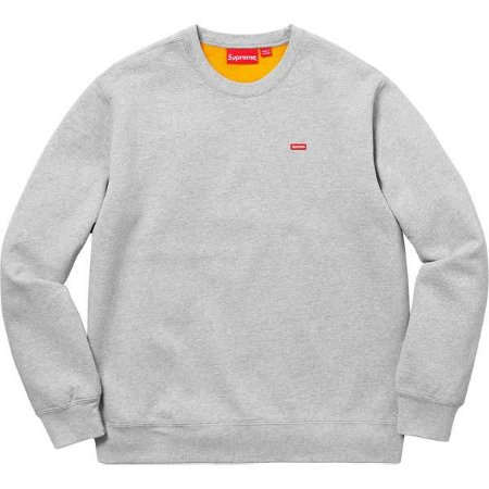"SUPREME - Moletom Contrast ""Grey"""
