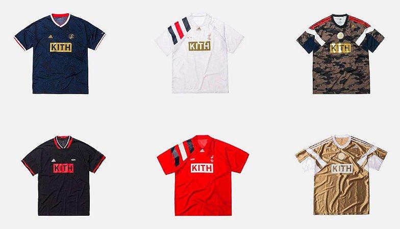 ENCOMENDA - KITH x Adidas - Camisa Match Jerseys