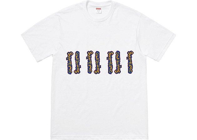 "SUPREME - Camiseta Gonz Logo ""White"""