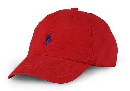 """Polo Ralph Lauren - Boné Baseball """"Red"""""""