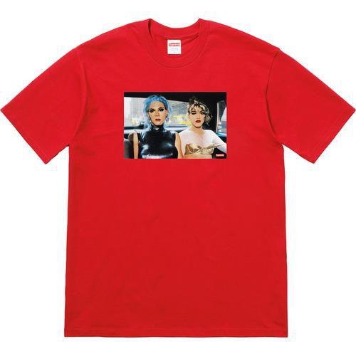 "Supreme x Nan Goldin - Camiseta Misty and Jimmy Paulette ""Red"""