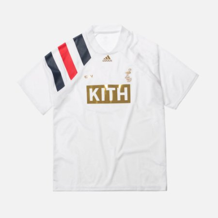 "KITH x Adidas - Camisa Match Jerseys ""White"""