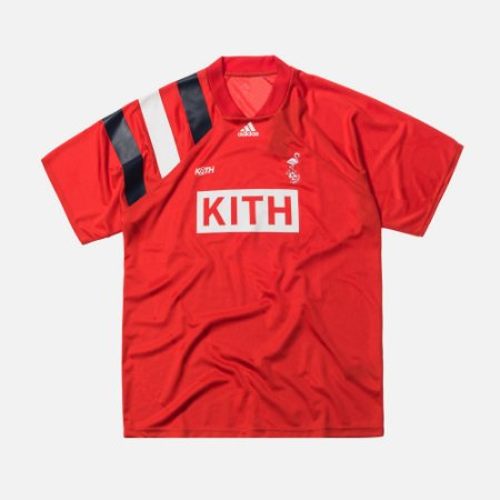 "KITH x Adidas - Camisa Match Jerseys ""Red"""