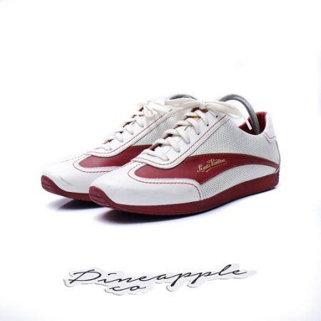 "Louis Vuitton Sapatênis ""White/Red"""