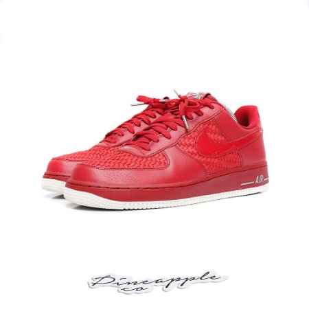 """Nike Air Force 1 Low '07 LV8 Woven """"Gym Red"""""""