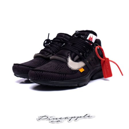 "Nike Air Presto x OFF-WHITE ""Black"""