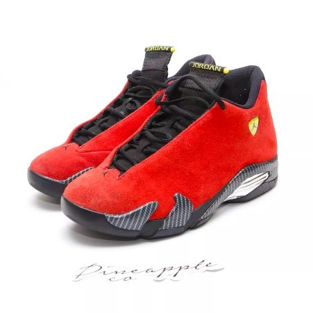 "Nike Air Jordan 14 Retro ""Ferrari"""