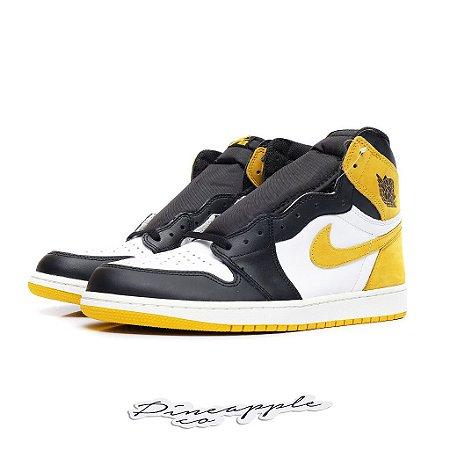 "Nike Air Jordan 1 Retro Best Hand in the Game ""Yellow Ochre"""