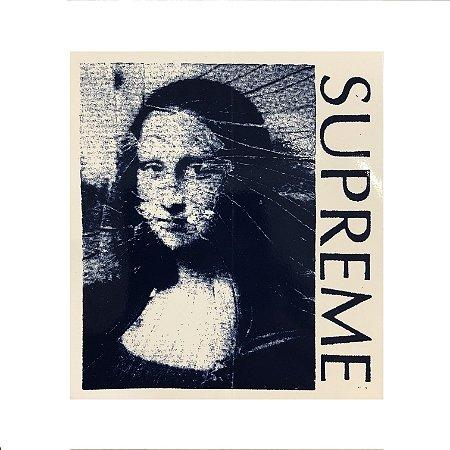SUPREME - Adesivo Mona Lisa
