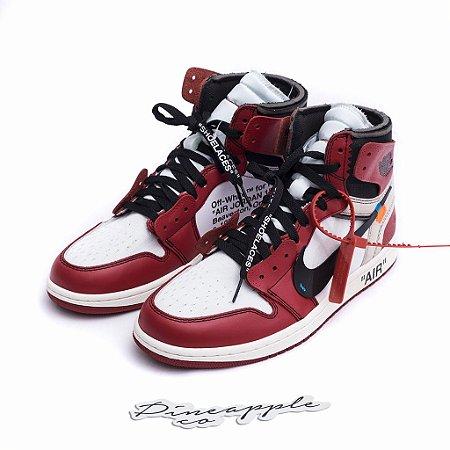 "Nike Air Jordan 1 Retro x OFF-WHITE ""Chicago"" - NOVO-"