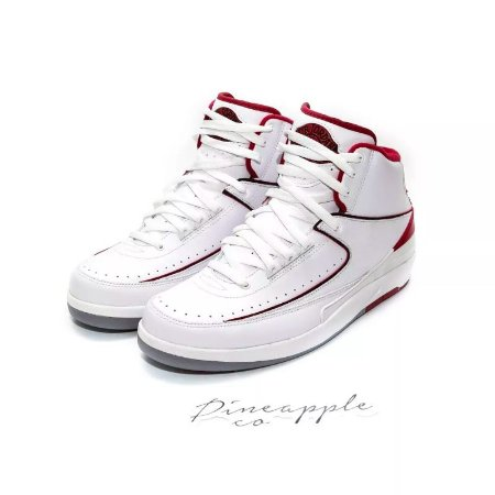 "Nike Air Jordan 2 Retro ""White/Red"" (2014)"