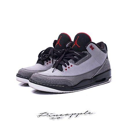 "Nike Air Jordan 3 Retro ""Stealth"""