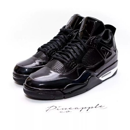 "Nike Air Jordan 4 Retro 11Lab4 ""Black"""