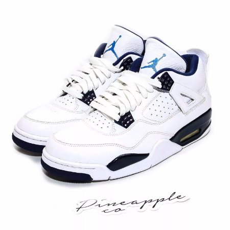 "Nike Air Jordan 4 Retro ""Columbia"" -USADO-"