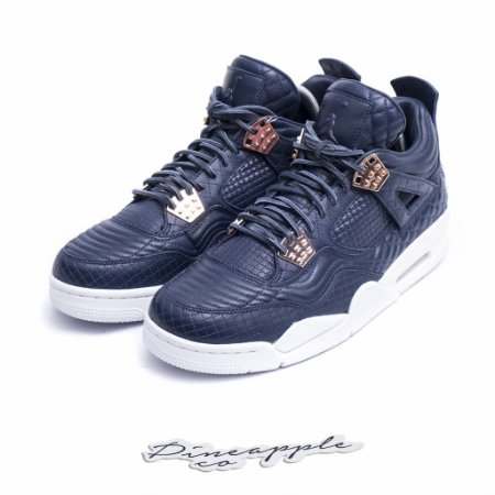 "Nike Air Jordan 4 Retro ""Obsidian"""