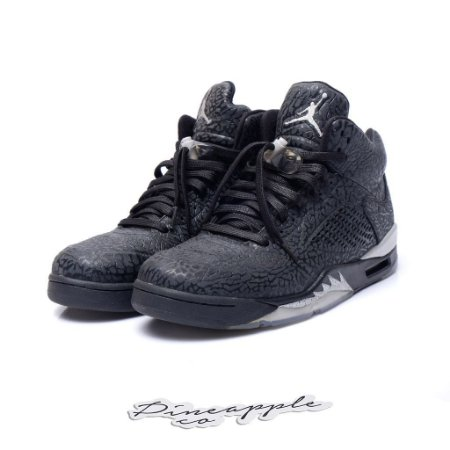 "Nike Air Jordan 5 3Lab5 ""Black Silver"" -USADO-"
