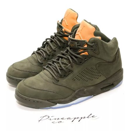 "Nike Air Jordan 5 Retro Premium ""Take Flight Olive"""