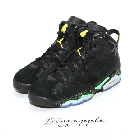 "Nike Air Jordan 6 Retro ""Brazil World Cup"" -NOVO-"